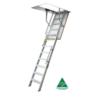KASW107HCW Ultimate Series Heavy Commercial Wide Attic Ladder