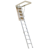 KASW12S Factory Second Premier Aluminium Attic Ladder