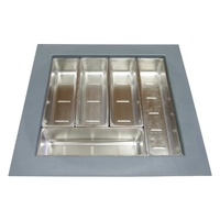 KCI03SG - Stainless Steel Cutlery Drawer Insert