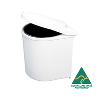 KRB02S - Factory Second 10L White Swing Out Concealed Waste Bin