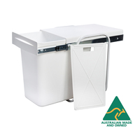 KRB15 - 44L Divided Slide Out Bin