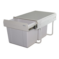 KRB33 - 30L Low Profile Twin Slide Out Waste Bin
