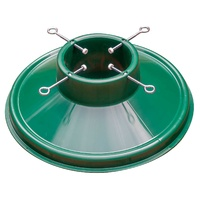 """Pre-Sale"" Xmas Tree Pot Stand Green 150mm - 100 Bulk Pack available 15th November"