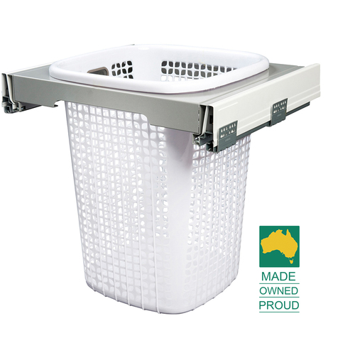 KLH6000 - Concealed Slide Out Laundry Hamper - suits 600mm cabinet