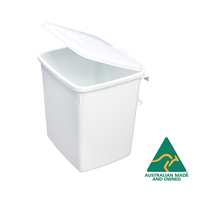 KRB07 - 15L Concealed Waste Bin Door Mounted